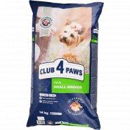 Сухой корм для взрослых собак малых пород «Club 4 Paws» 14 кг.