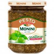 Соус «Pesto Genovese» на основе растительного масла без чеснока 190 г.