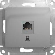 Розетка компьютерная «Schneider Electric» Glossa, GSL00031K