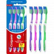 Зубная щётка «Colgate» эксперт чистоты, 4 шт.