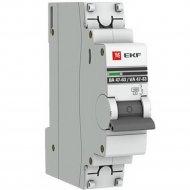 Автоматический выключатель «EKF» Proxima, MCB4763-1-06C-PRO