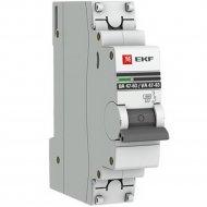 Автоматический выключатель «EKF» Proxima, MCB4763-1-10C-PRO