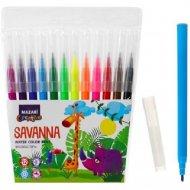 Фломастеры «Savanna» 12 цветов.