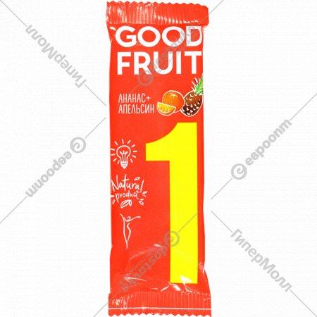 Фруктовый батончик «Good Fruit» ананас-апельсин, 32 г.