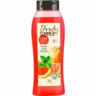 Гель для душа «Fruity Summer» солнечный грейпфрут/мята, 500 г.