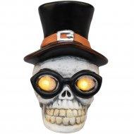 Керамическая фигурка «Neon-Night» 505-021 Череп в шляпе.
