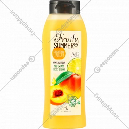 Крем-гель для душа «Fruity Summer» манго лайм и масло персика, 500 г.