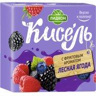 Кисель «Лидкон» лесная ягода, 220 г.