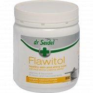 Порошок для собак «Flawitol» здоровая кожа и красивая шерсть, 400 г.