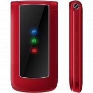 Мобильный телефон «Texet» TM-317, красный.