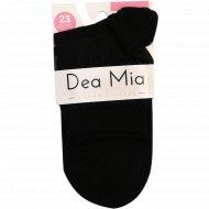 Носки женские «Dia Mia» черные, размер 23.