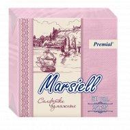Салфетки бумажные «Marsiell» 24x24, 50 платочков.