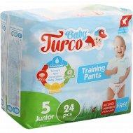 Подгузники-трусики для детей «Baby Turco» размер 5, 12-25 кг, 24 шт.