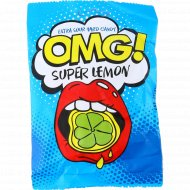 Карамель леденцовая «OMG!» super lemon, 57 г.