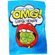 Карамель леденцовая «OMG!» super lemon, 57 г.