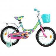 Велосипед «Krakken» Molly 20, бирюзовый