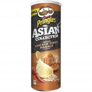 Чипсы «Pringles» курица с индийскими специями «тикка масала», 160 г.