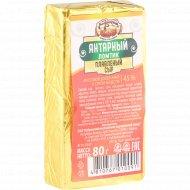 Сыр плавленый «Янтарный» 45%, 80 г