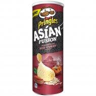 Чипсы «Pringles» со вкусом малазийского красного карри, 160 г.