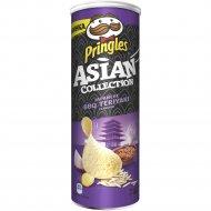 Чипсы «Pringles» соус барбекю «терияки по-японски», 160 г.