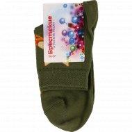 Носки женские «Брестские» размер 23, хаки.