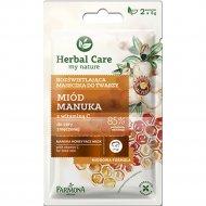 Маска для лица выравнивающая тон «Herbal Care» Мед Мануки, 2х5мл.