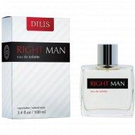 Мужская туалтеная вода «Dilis» Right man 100 мл