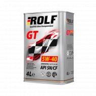 Масло моторное «Rolf» 5w40, sae, 4 л.
