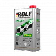 Масло моторное «Rolf» energy, 10w40, sae, 1 л.