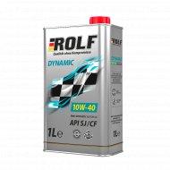 Масло моторное «Rolf» dynamic, 10w40, sae, 1 л.
