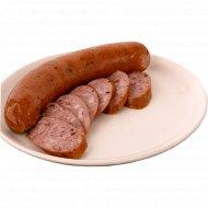 Колбаса салями «Краковская» высшего сорта, 1 кг., фасовка 0.45-0.6 кг