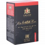 Чай черный листовой «Chelton» Nobel House Black OPA, 100 г