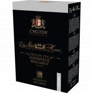 Чай черный листовой «Chelton» Noble House Super Pekoe Bergamot, 100 г.