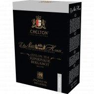 Чай черный листовой «Chelton» Noble House Super Pekoe Bergamot, 100 г.