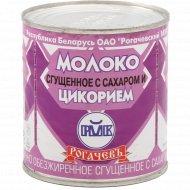 Молоко сгущенное «Рогачевъ» с сахаром и цикорием, 380 г.