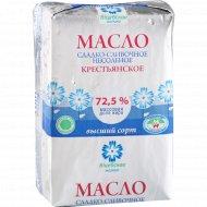 Масло сладкосливочное «Крестьянское» несоленое 72.5, 100 г.