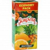Напиток сокосодержащий «Sokovita» мультифруктовый, 1.93 л.