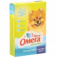 Лакомство для собак «Neo Oмега» блестящая шерсть, 90 таблеток.