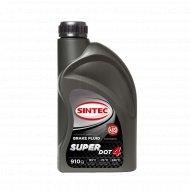 Тормозная жидкость «Sintec» Super DOT-4, 910 г.