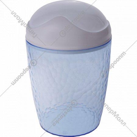 Настольный контейнер «Natural stone» голубой, 1 л.