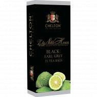 Чай черный «Chelton» Nobel House Earl Greay, 25x2 г.
