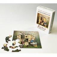 Фигурный деревянный пазл «Алиса в стране Чудес» 48 элементов.
