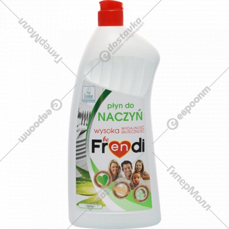 Средство для мытья посуды «Be Frendi» алоэ, 1 л.