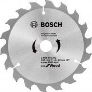 Диск пильный «Bosch» Eco Wood, 2608644372, 160х20 мм