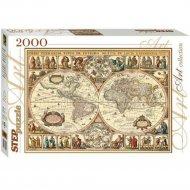 Пазл «Step Puzzle» Историческая карта мира, 2000