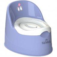 Горшок детский «Kidwick» Гранд, KW050502, фиолетовый/белый