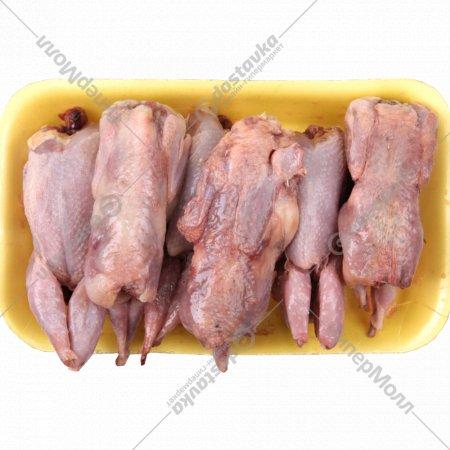 Мясо перепелки замороженное 1 кг., фасовка 0.4-0.65 кг