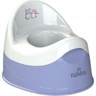 Горшок детский «Kidwick» Дуэт, KW100504, фиолетовый/белый