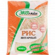 Крупа рисовая «Эколайн» Янтарный пропаренный, 900 г.
