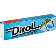 Жевательная резинка «Dirol» ледяная мята 13.6 г